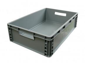Plastik Stapelbox gross grau